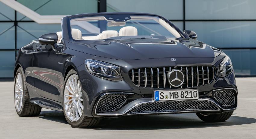 Mercedes-Benz S-Class Coupe C217 dan S-Class Cabriolet A217 facelift didedah, termasuk versi AMG Image #705696