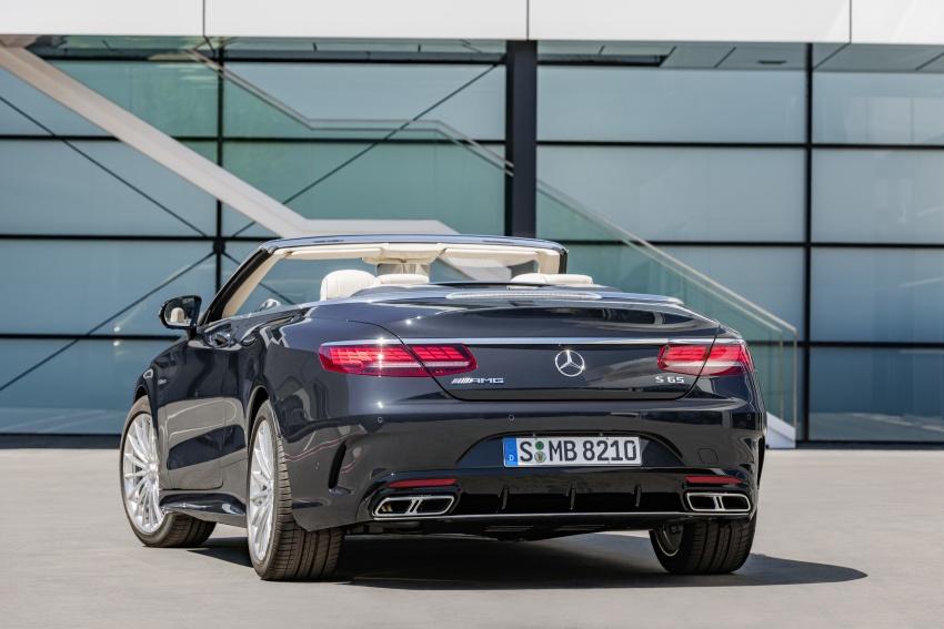 Mercedes-Benz S-Class Coupe C217 dan S-Class Cabriolet A217 facelift didedah, termasuk versi AMG Image #705697