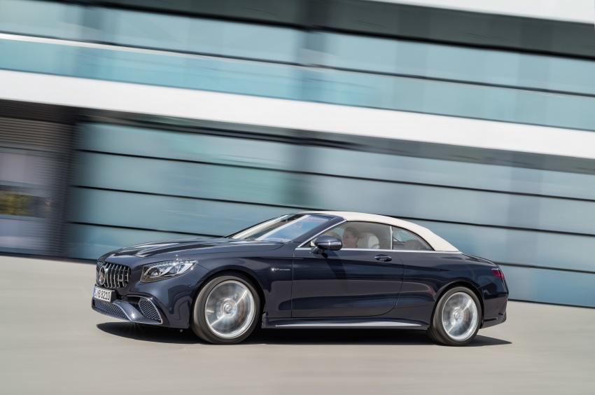 Mercedes-Benz S-Class Coupe C217 dan S-Class Cabriolet A217 facelift didedah, termasuk versi AMG Image #705702