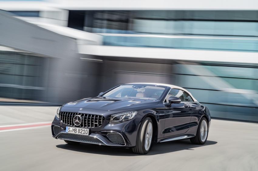 Mercedes-Benz S-Class Coupe C217 dan S-Class Cabriolet A217 facelift didedah, termasuk versi AMG Image #705703