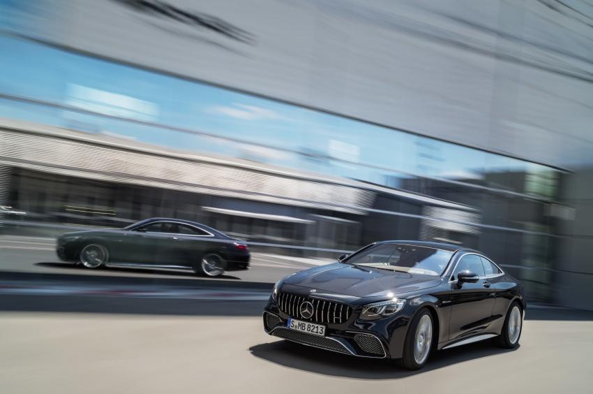 Mercedes-Benz S-Class Coupe C217 dan S-Class Cabriolet A217 facelift didedah, termasuk versi AMG Image #705689