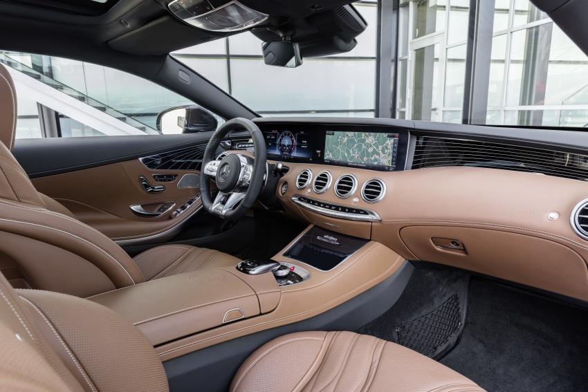 Mercedes-Benz S-Class Coupe C217 dan S-Class Cabriolet A217 facelift didedah, termasuk versi AMG Image #705693
