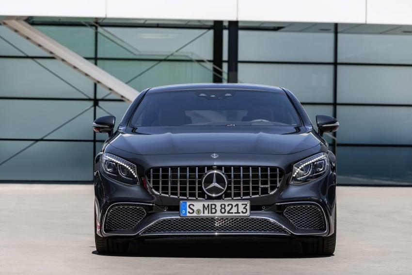 Mercedes-Benz S-Class Coupe C217 dan S-Class Cabriolet A217 facelift didedah, termasuk versi AMG Image #705679