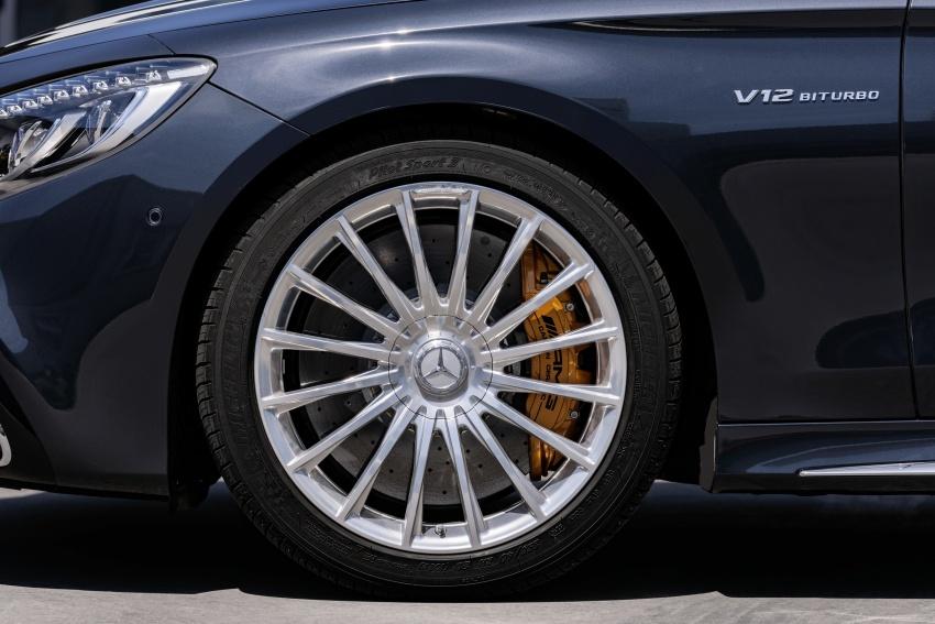 Mercedes-Benz S-Class Coupe C217 dan S-Class Cabriolet A217 facelift didedah, termasuk versi AMG Image #705682