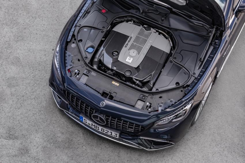 Mercedes-Benz S-Class Coupe C217 dan S-Class Cabriolet A217 facelift didedah, termasuk versi AMG Image #705683