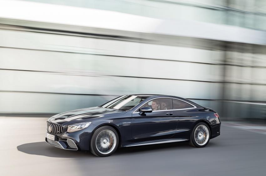 Mercedes-Benz S-Class Coupe C217 dan S-Class Cabriolet A217 facelift didedah, termasuk versi AMG Image #705685
