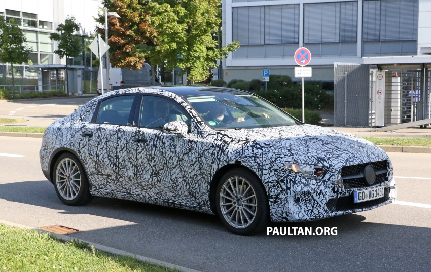 SPIED: Mercedes-Benz A-Class sedan spotted testing Image #706201