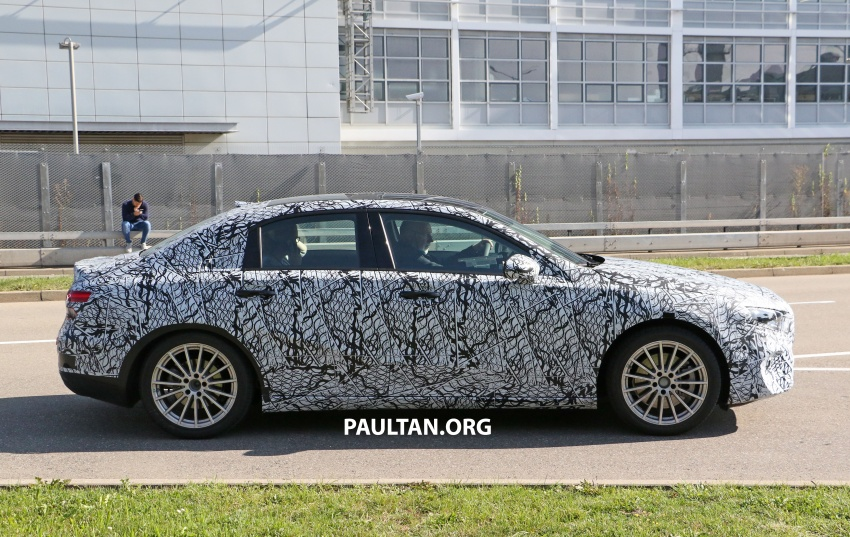 SPIED: Mercedes-Benz A-Class sedan spotted testing Image #706203