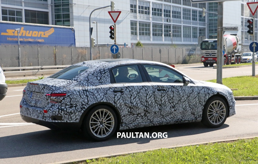 SPIED: Mercedes-Benz A-Class sedan spotted testing Image #706205