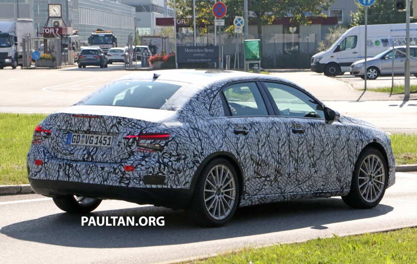 SPIED: Mercedes-Benz A-Class sedan spotted testing Image #706206