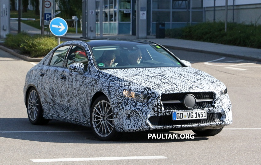 SPIED: Mercedes-Benz A-Class sedan spotted testing Image #706193