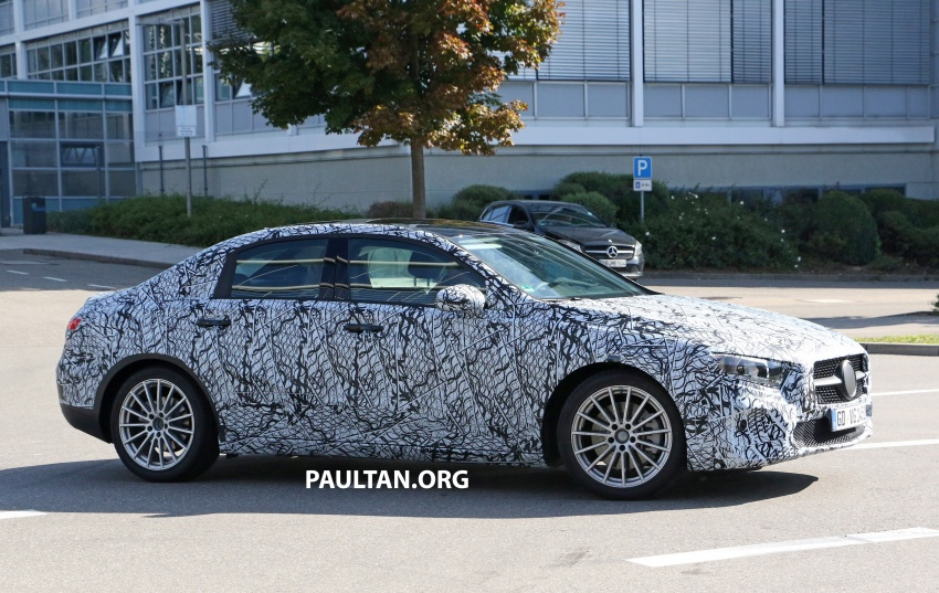 SPIED: Mercedes-Benz A-Class sedan spotted testing Image #706195
