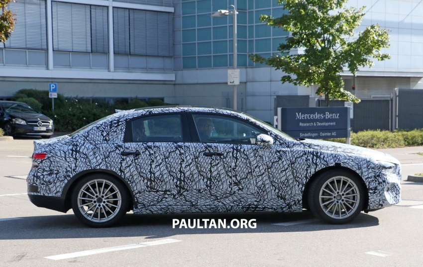 SPIED: Mercedes-Benz A-Class sedan spotted testing Image #706196