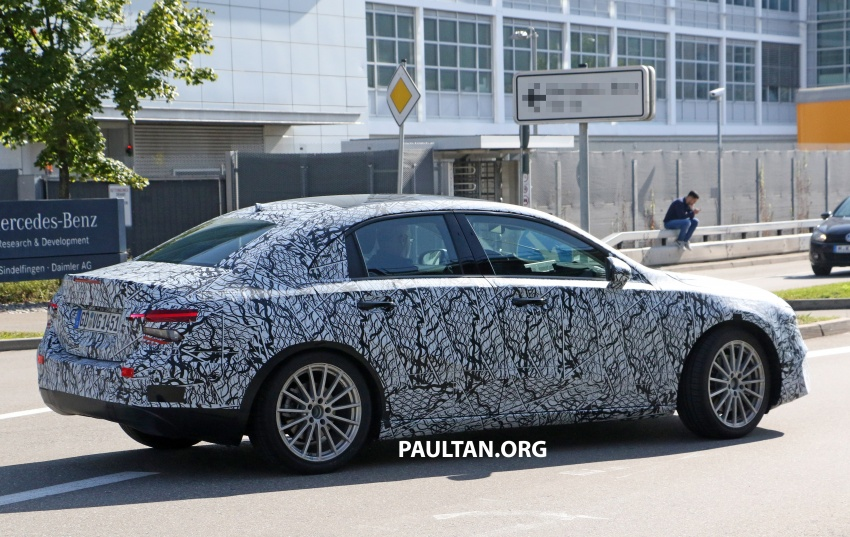 SPIED: Mercedes-Benz A-Class sedan spotted testing Image #706197