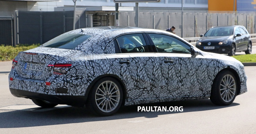 SPIED: Mercedes-Benz A-Class sedan spotted testing Image #706198