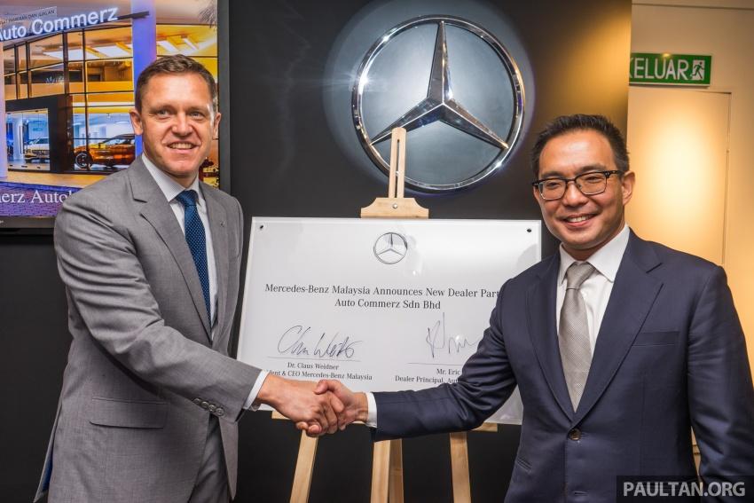 Mercedes-Benz M'sia lantik Auto Commerz sebagai pengedar baharu – bilik pameran sementara di KL Image #707245