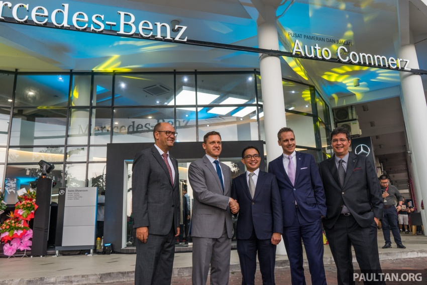 Mercedes-Benz M'sia lantik Auto Commerz sebagai pengedar baharu – bilik pameran sementara di KL Image #707244