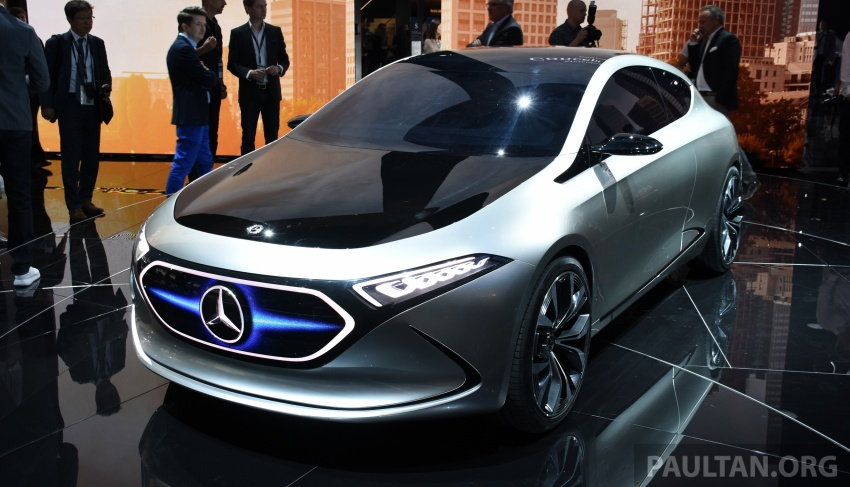 Mercedes-Benz Concept EQ A revealed in Frankfurt Image #709737