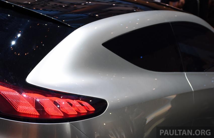 Mercedes-Benz Concept EQ A revealed in Frankfurt Image #709721