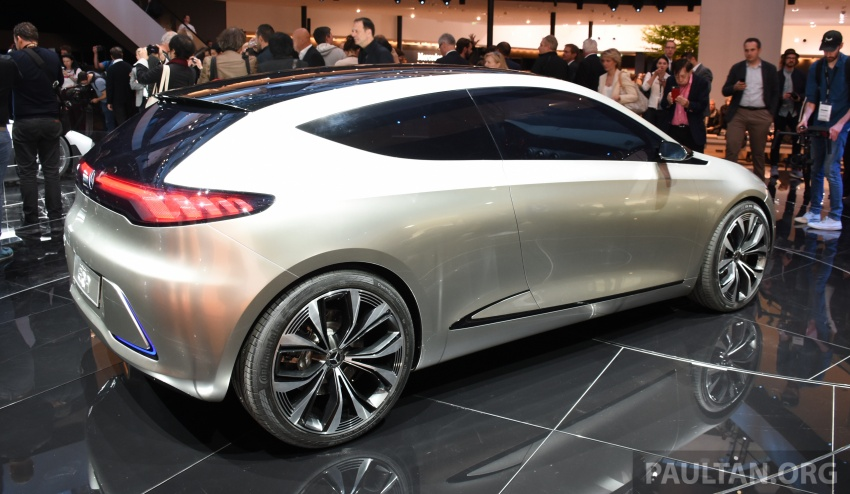 Mercedes-Benz Concept EQ A revealed in Frankfurt Image #709731