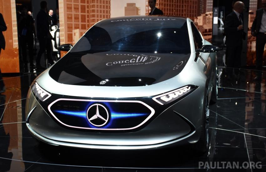 Mercedes-Benz Concept EQ A revealed in Frankfurt Image #709734
