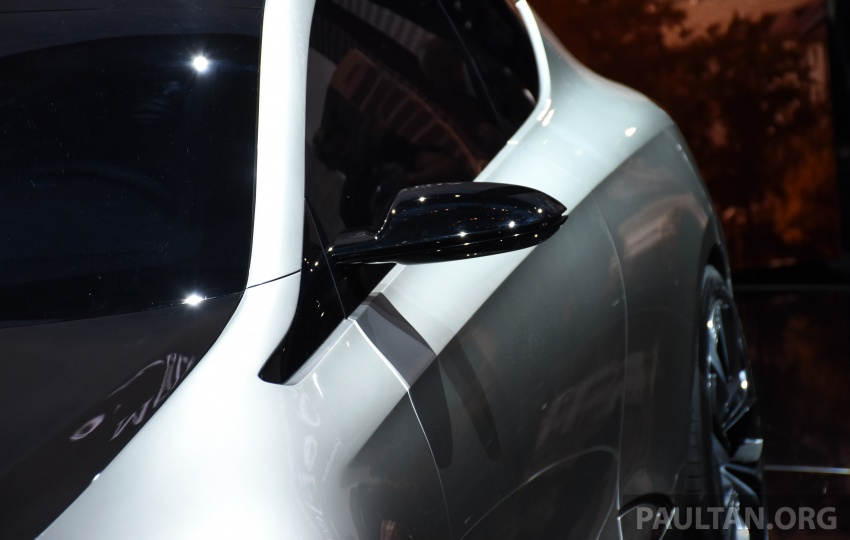 Mercedes-Benz Concept EQ A revealed in Frankfurt Image #709735