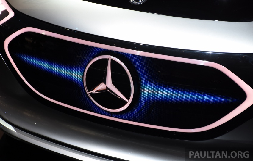 Mercedes-Benz Concept EQ A revealed in Frankfurt Image #709725