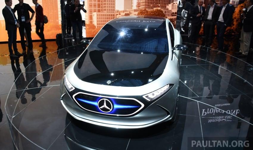 Mercedes-Benz Concept EQ A revealed in Frankfurt Image #709736
