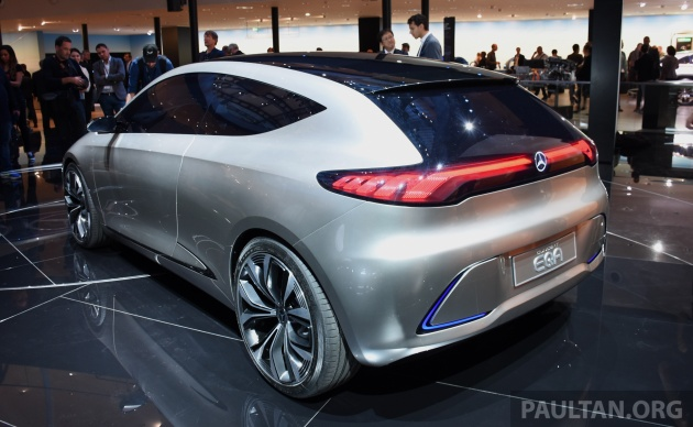Mercedes benz concept eq a revealed in frankfurt for Mercedes benz concept eq