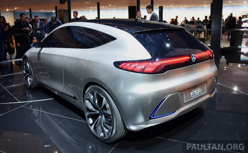 Mercedes-Benz Concept EQ A revealed in Frankfurt Image #709727