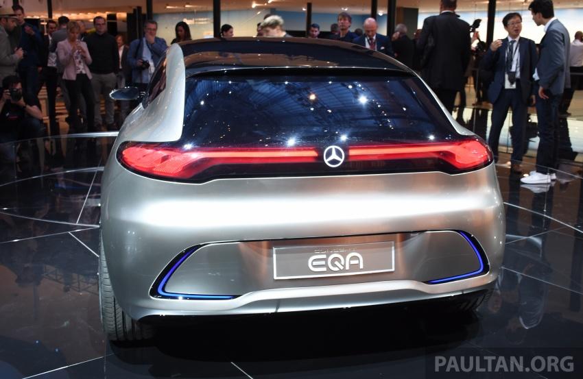 Mercedes-Benz Concept EQ A revealed in Frankfurt Image #709728