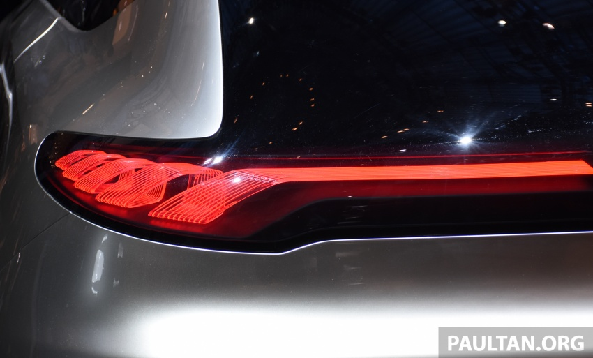 Mercedes-Benz Concept EQ A revealed in Frankfurt Image #709729