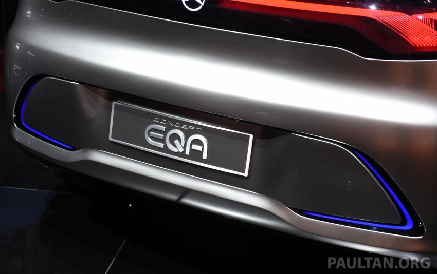 Mercedes-Benz Concept EQ A revealed in Frankfurt Image #709730