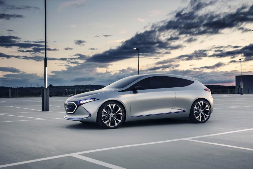 Mercedes-Benz Concept EQ A revealed in Frankfurt Image #709476