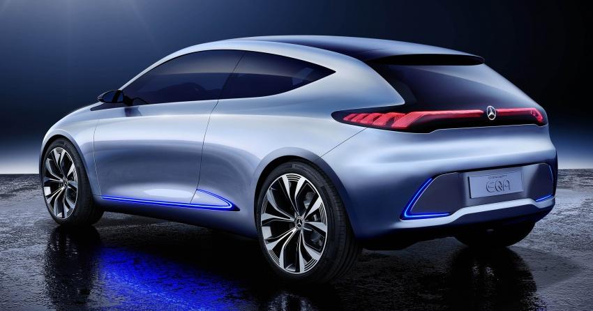Mercedes-Benz Concept EQ A revealed in Frankfurt Image #709488
