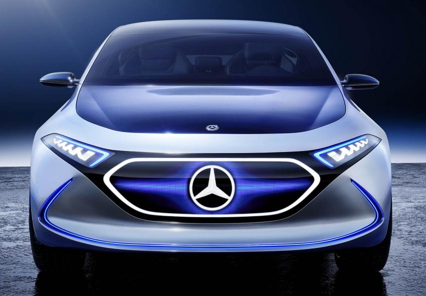 Mercedes-Benz Concept EQ A revealed in Frankfurt Image #709489
