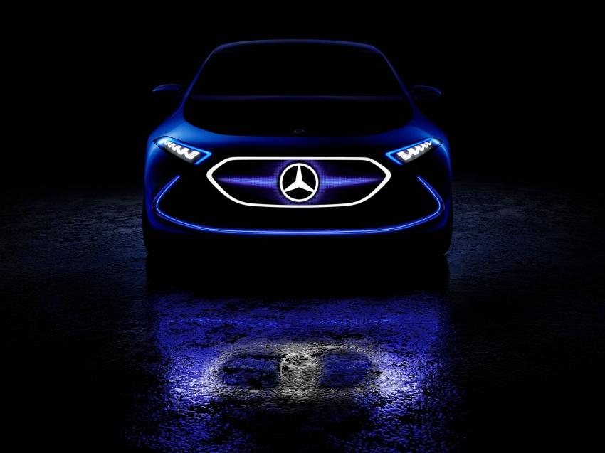 Mercedes-Benz Concept EQ A revealed in Frankfurt Image #709491