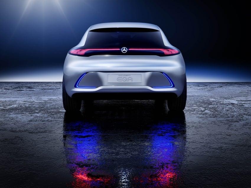 Mercedes-Benz Concept EQ A revealed in Frankfurt Image #709493