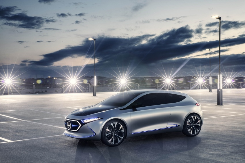 Mercedes-Benz Concept EQ A revealed in Frankfurt Image #709477