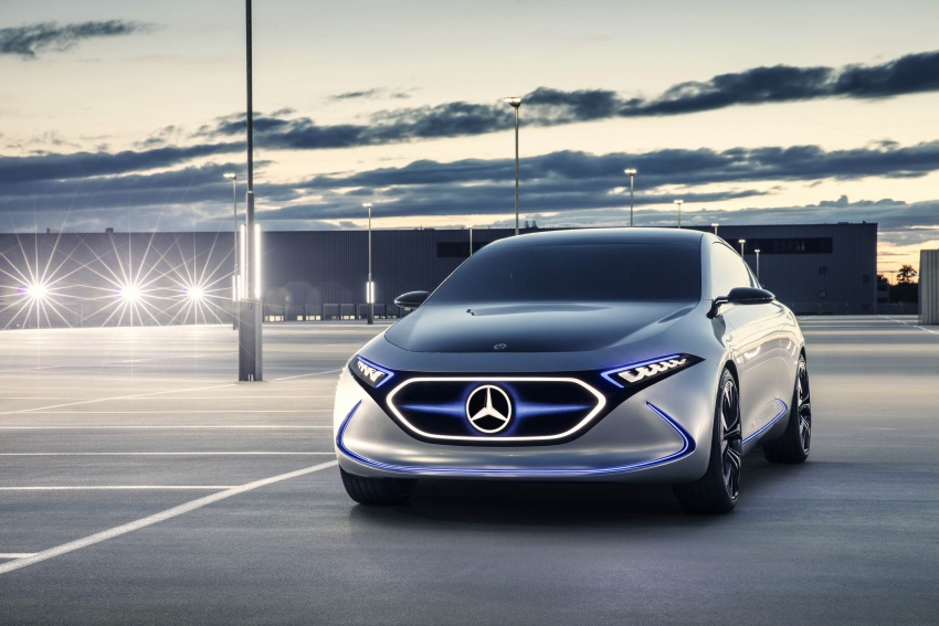 Mercedes-Benz Concept EQ A revealed in Frankfurt Image #709478