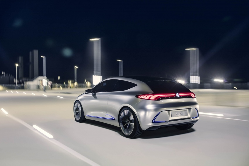Mercedes-Benz Concept EQ A revealed in Frankfurt Image #709481
