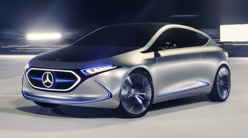 Mercedes-Benz Concept EQ A revealed in Frankfurt Image #709482