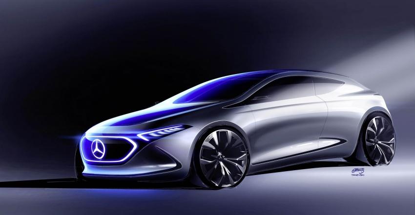 Mercedes-Benz Concept EQ A revealed in Frankfurt Image #709483