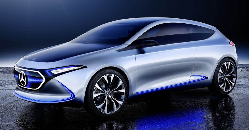 Mercedes-Benz Concept EQ A revealed in Frankfurt Image #709486