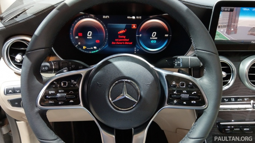 W205 Mercedes-Benz C-Class facelift interior previewed by GLC F-Cell? Here's what to expect Image #710515