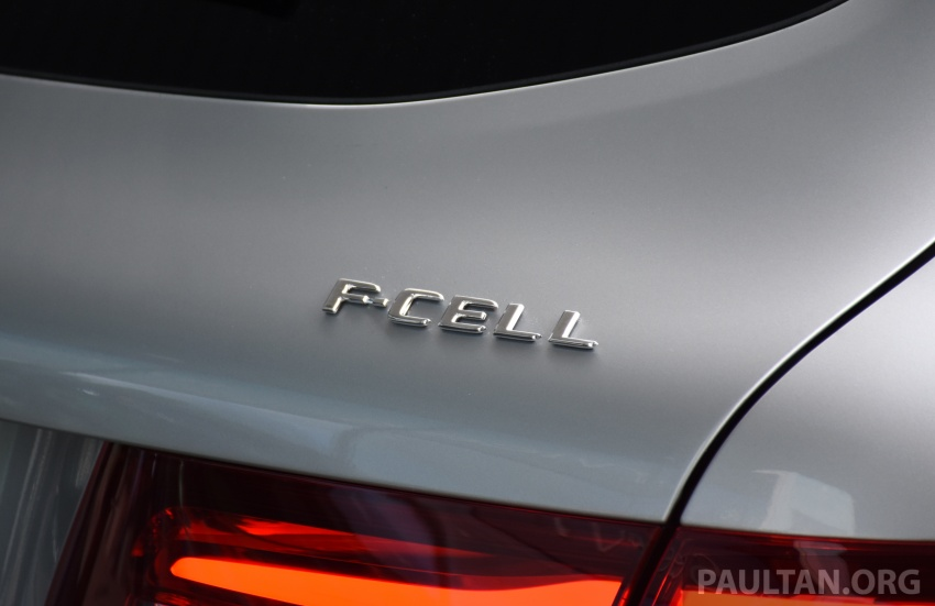 Mercedes-Benz GLC F-Cell revealed in pre-production form at Frankfurt show – two electric energy sources Image #710446