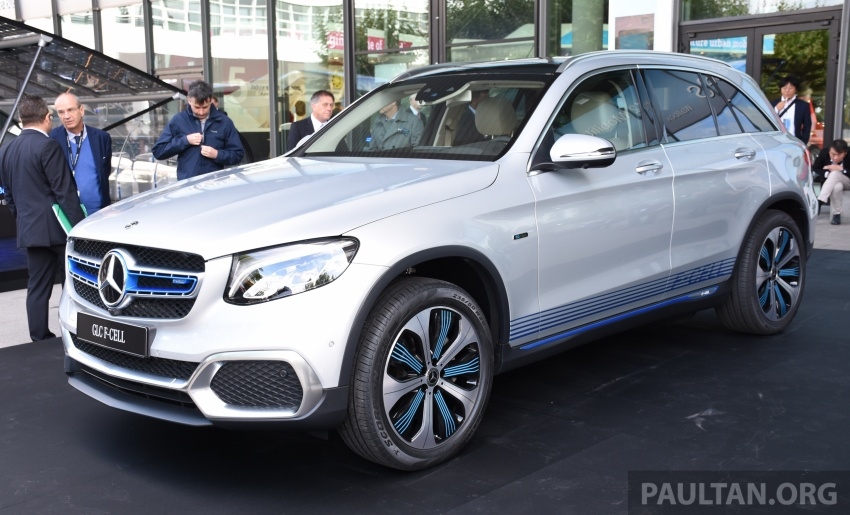 Mercedes-Benz GLC F-Cell revealed in pre-production form at Frankfurt show – two electric energy sources Image #710437