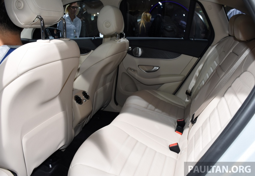 Mercedes-Benz GLC F-Cell revealed in pre-production form at Frankfurt show – two electric energy sources Image #710461
