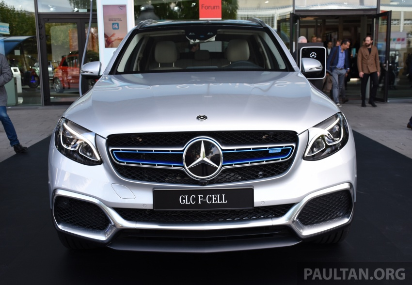 Mercedes-Benz GLC F-Cell revealed in pre-production form at Frankfurt show – two electric energy sources Image #710438