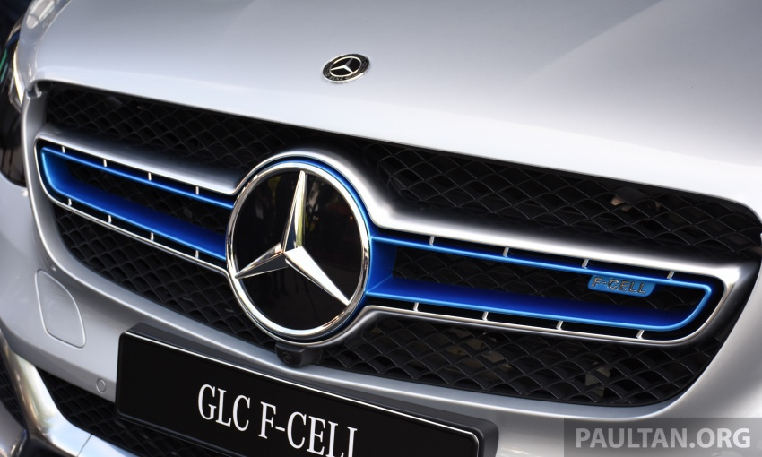 Mercedes-Benz GLC F-Cell revealed in pre-production form at Frankfurt show – two electric energy sources Image #710442